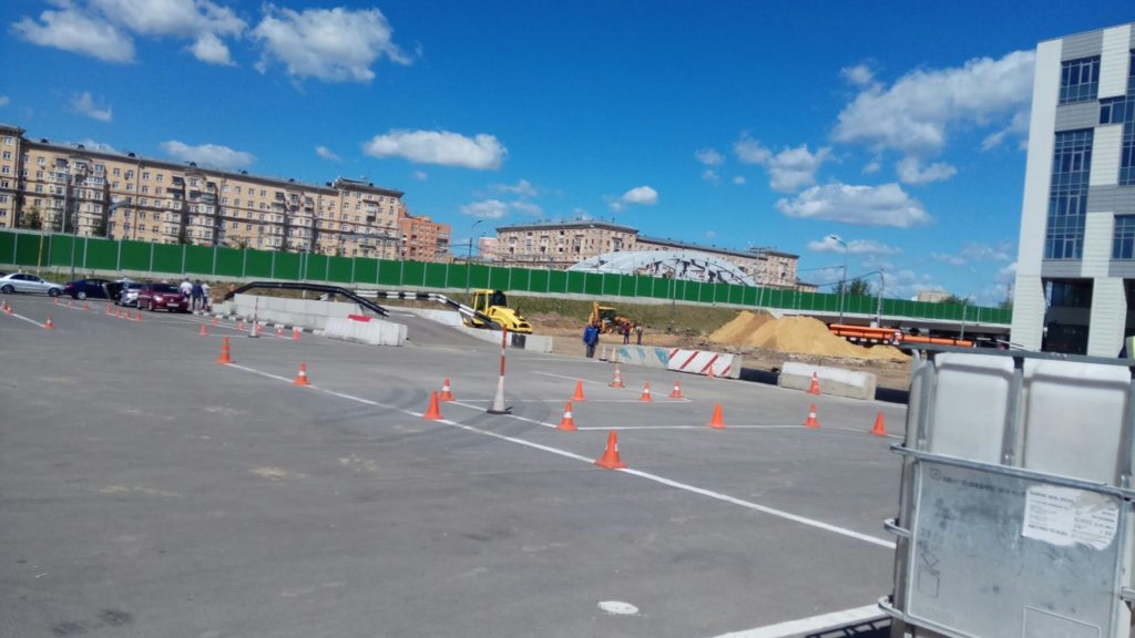 МРЭО ГИБДД Измайловского Зверинца фотография площадки-автодрома