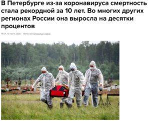 Коронавирус в Санкт-Петербурге - смертность и заболеваемость, исследования популяционного иммунитета, новый ковид госпиталь к декабрю