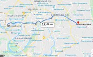 Размеры Москвы - ТТК