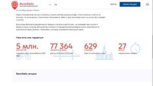 Велосипед в Москве - велопрокат количество поездок в день
