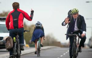 ПДД велосипедиста в городе - Борис Джонсон, мэр Лондона